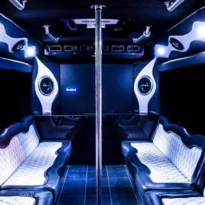 San Antonio 50 passenger Party Bus booking
