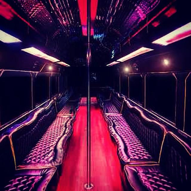 San Antonio Party Bus 40 Passenger Limo Bus RentalsSan