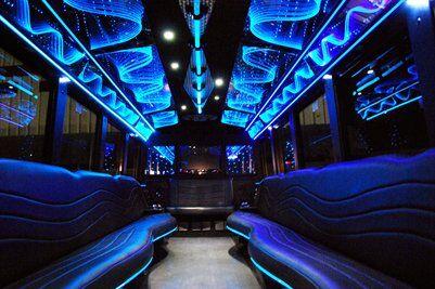 San Antonio Party Bus 30 Passenger Rental Limo Bus
