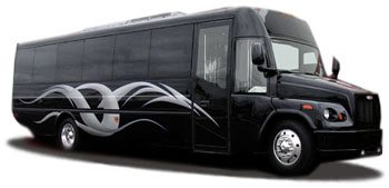 San Antonio Party Bus 30 Passenger Rental Limo Bus